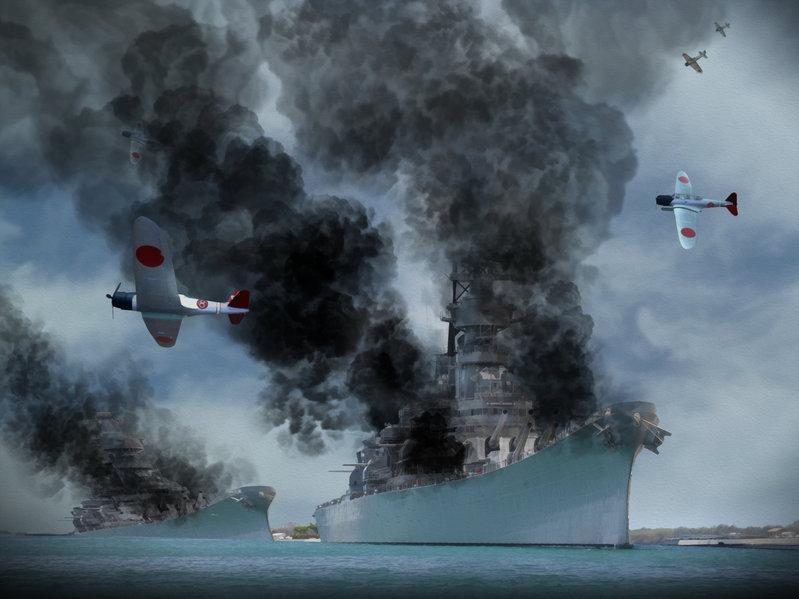 Japan's Peal harbor Bombing