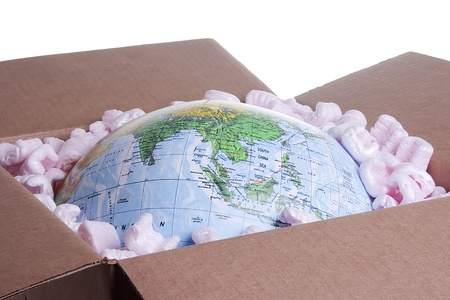 Moving box for international shipping use