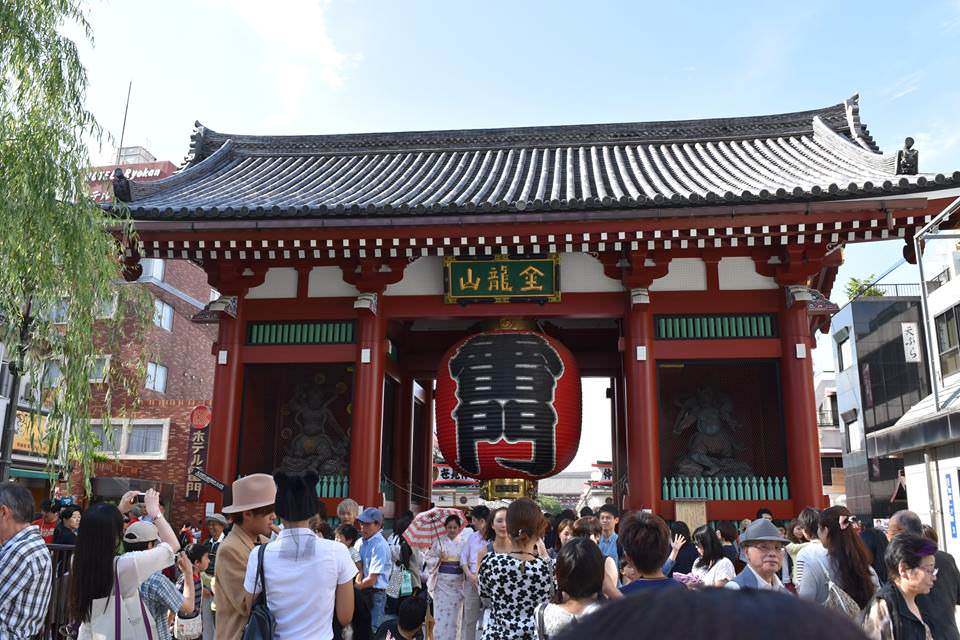 Entrance to Sensoji Temple