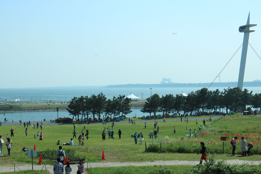 View of Tokyo Bay