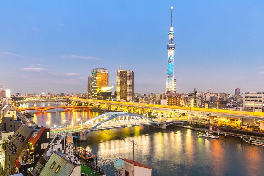 Tokyo's new landmark